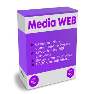 Promotion media web promotion musicale