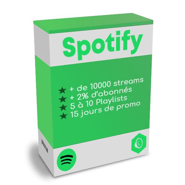 Promotion Spotify promo streams boost