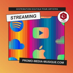 Distribution Streaming - promotion musicale spotify