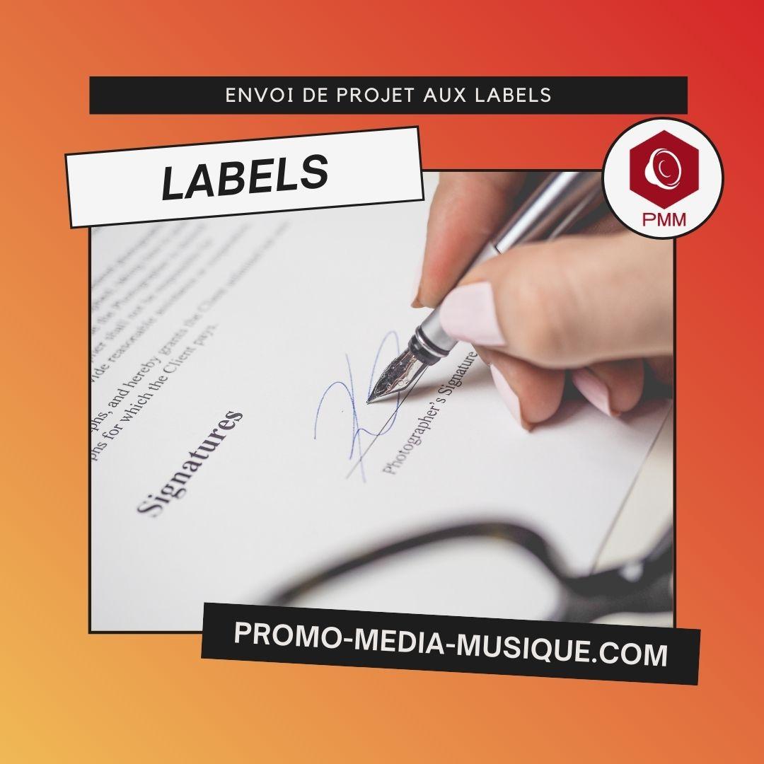 Promotion Labels - directeur artistique signature label de musique